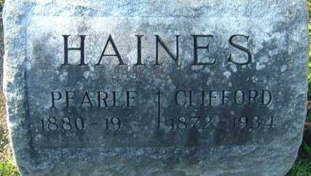 HAINES, JAMES CLIFFORD - Franklin County, Ohio | JAMES CLIFFORD HAINES - Ohio Gravestone Photos