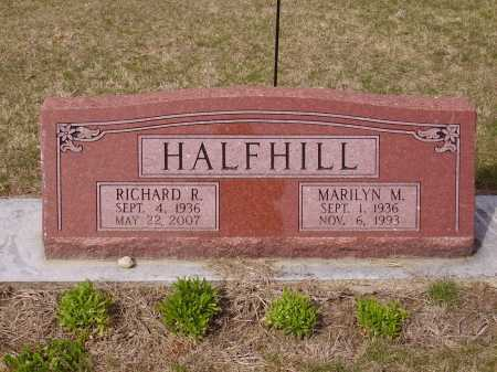 HALFHILL, RICHARD R. - Franklin County, Ohio | RICHARD R. HALFHILL - Ohio Gravestone Photos