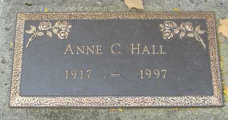 HALL, ANNE C - Franklin County, Ohio | ANNE C HALL - Ohio Gravestone Photos