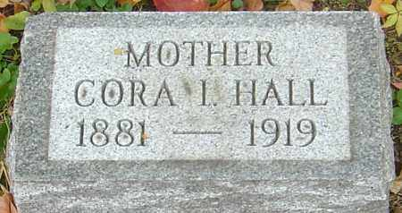 HALL, CORA IONE - Franklin County, Ohio | CORA IONE HALL - Ohio Gravestone Photos