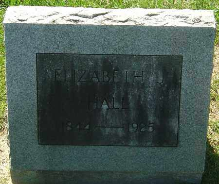 WILSON HALL, ELIZABETH JANE - Franklin County, Ohio | ELIZABETH JANE WILSON HALL - Ohio Gravestone Photos