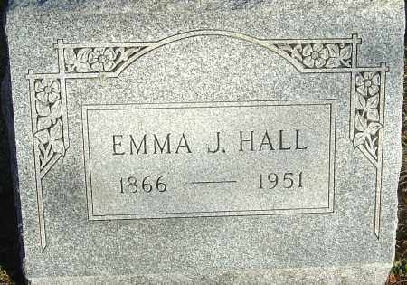 HALL, EMMA J - Franklin County, Ohio | EMMA J HALL - Ohio Gravestone Photos