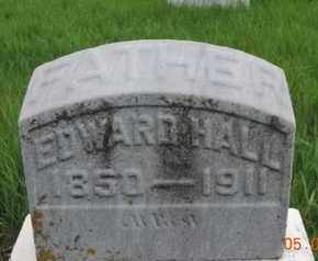 HALL, EDWARD - Franklin County, Ohio | EDWARD HALL - Ohio Gravestone Photos