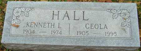 HALL, KENNETH I - Franklin County, Ohio | KENNETH I HALL - Ohio Gravestone Photos