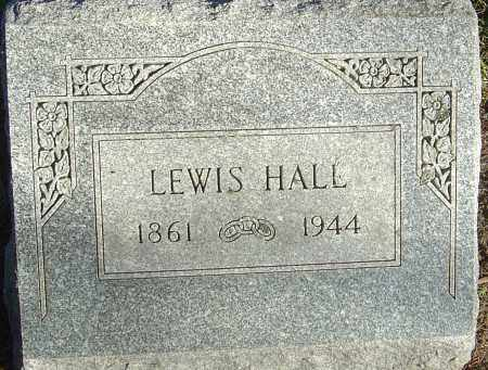 HALL, LEWIS - Franklin County, Ohio | LEWIS HALL - Ohio Gravestone Photos