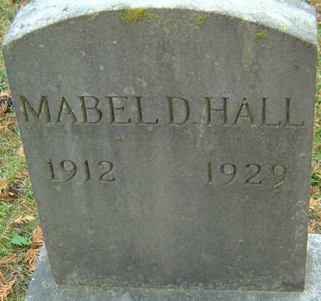 HALL, MABEL D - Franklin County, Ohio | MABEL D HALL - Ohio Gravestone Photos