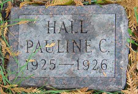 HALL, PAULINE C - Franklin County, Ohio | PAULINE C HALL - Ohio Gravestone Photos