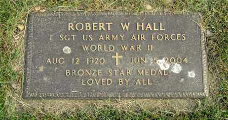 HALL, ROBERT W. - Franklin County, Ohio | ROBERT W. HALL - Ohio Gravestone Photos