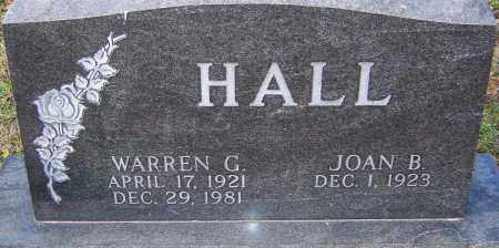 HALL, WARREN - Franklin County, Ohio | WARREN HALL - Ohio Gravestone Photos