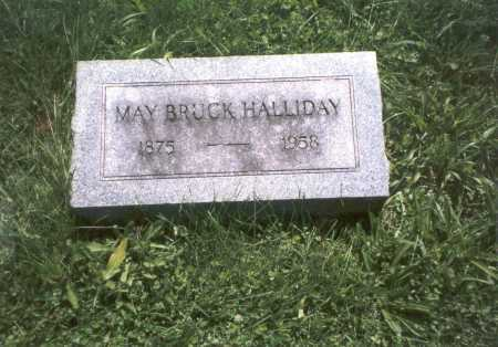 HALLIDAY, MAY - Franklin County, Ohio | MAY HALLIDAY - Ohio Gravestone Photos