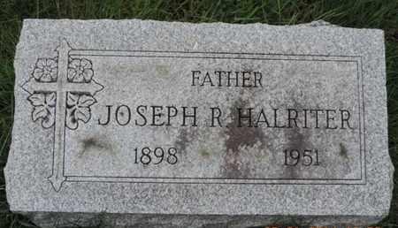 HALRITER, JOSEPH R. - Franklin County, Ohio | JOSEPH R. HALRITER - Ohio Gravestone Photos