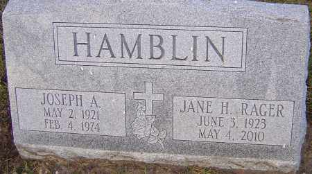 HAMBLIN, JANE - Franklin County, Ohio | JANE HAMBLIN - Ohio Gravestone Photos