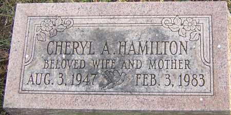 HAMILTON, CHERYL - Franklin County, Ohio | CHERYL HAMILTON - Ohio Gravestone Photos