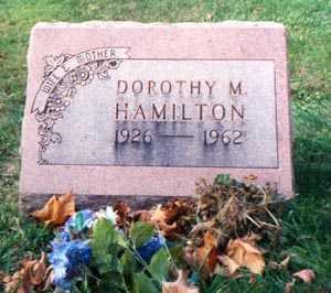 HAMILTON, DOROTHY MAE - Franklin County, Ohio | DOROTHY MAE HAMILTON - Ohio Gravestone Photos
