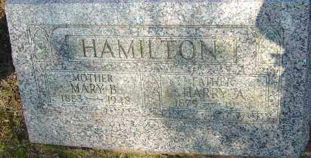 HAMILTON, HARRY A - Franklin County, Ohio | HARRY A HAMILTON - Ohio Gravestone Photos