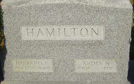 HAMILTON, HOWARD L - Franklin County, Ohio | HOWARD L HAMILTON - Ohio Gravestone Photos