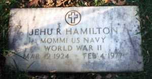 HAMILTON, JEHU ROSCOE - Franklin County, Ohio | JEHU ROSCOE HAMILTON - Ohio Gravestone Photos