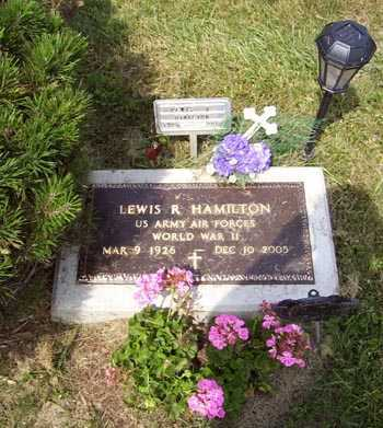 HAMILTON, LEWIS REGINALD - Franklin County, Ohio | LEWIS REGINALD HAMILTON - Ohio Gravestone Photos