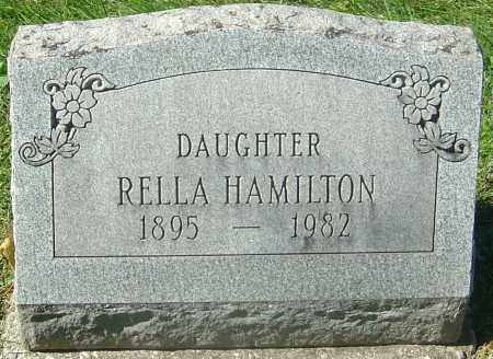 HAMILTON, RELLA - Franklin County, Ohio | RELLA HAMILTON - Ohio Gravestone Photos