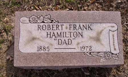 HAMILTON, ROBERT FRANK - Franklin County, Ohio | ROBERT FRANK HAMILTON - Ohio Gravestone Photos