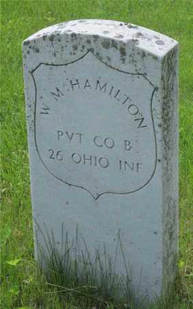 HAMILTON, W. M. - Franklin County, Ohio | W. M. HAMILTON - Ohio Gravestone Photos