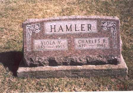 HAMLER, VIOLA V. - Franklin County, Ohio | VIOLA V. HAMLER - Ohio Gravestone Photos