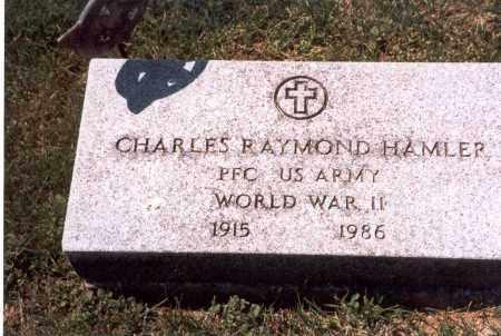 HAMLER, CHARLES RAYMOND - Franklin County, Ohio | CHARLES RAYMOND HAMLER - Ohio Gravestone Photos