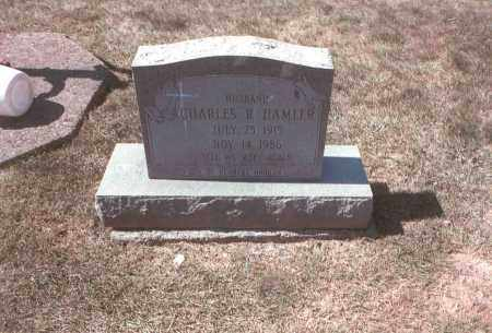 HAMLER, CHARLES R. - Franklin County, Ohio | CHARLES R. HAMLER - Ohio Gravestone Photos
