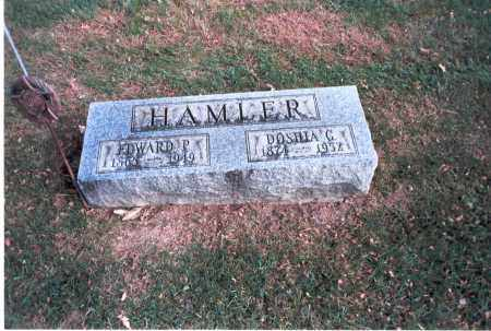 HAMLER, EDWARD P. - Franklin County, Ohio | EDWARD P. HAMLER - Ohio Gravestone Photos