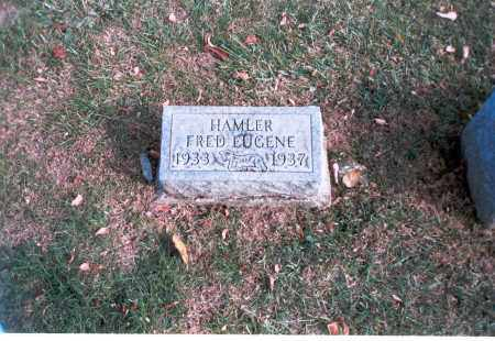 HAMLER, FRED EUGENE - Franklin County, Ohio | FRED EUGENE HAMLER - Ohio Gravestone Photos