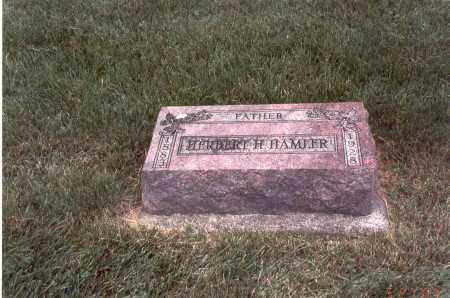 HAMLER, HERBERT H. - Franklin County, Ohio | HERBERT H. HAMLER - Ohio Gravestone Photos