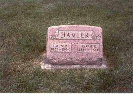 HAMLER, SARAH E. - Franklin County, Ohio | SARAH E. HAMLER - Ohio Gravestone Photos