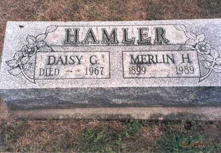 HAMLER, DAISY G. - Franklin County, Ohio | DAISY G. HAMLER - Ohio Gravestone Photos