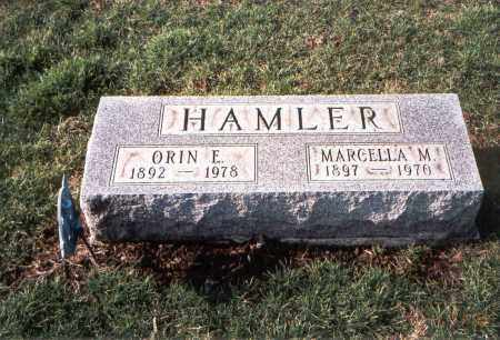 HAMLER, MARCELLA M. - Franklin County, Ohio | MARCELLA M. HAMLER - Ohio Gravestone Photos