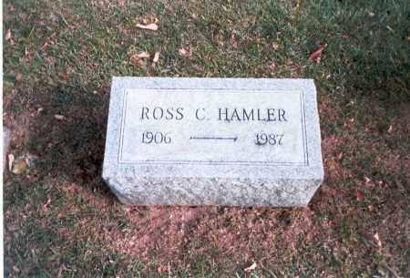 HAMLER, ROSS C. - Franklin County, Ohio | ROSS C. HAMLER - Ohio Gravestone Photos