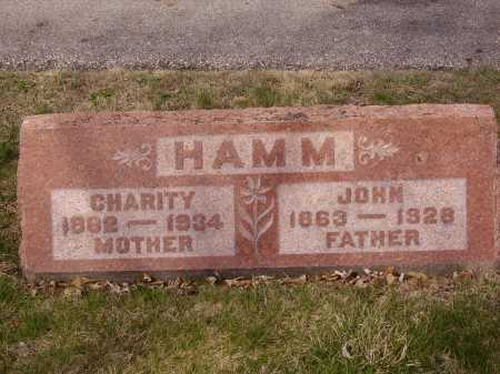 HAMM, CHARITY - Franklin County, Ohio | CHARITY HAMM - Ohio Gravestone Photos