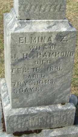 HAMMOND, ELMINA Z - Franklin County, Ohio | ELMINA Z HAMMOND - Ohio Gravestone Photos