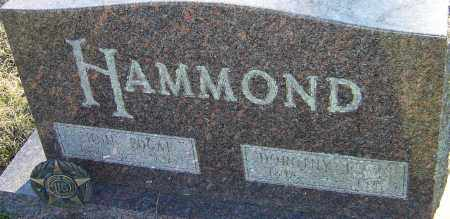 LEWIS HAMMOND, DOROTHY - Franklin County, Ohio | DOROTHY LEWIS HAMMOND - Ohio Gravestone Photos