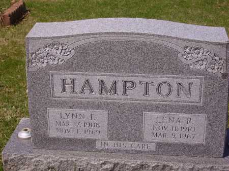 HAMPTON, LYNN F. - Franklin County, Ohio | LYNN F. HAMPTON - Ohio Gravestone Photos