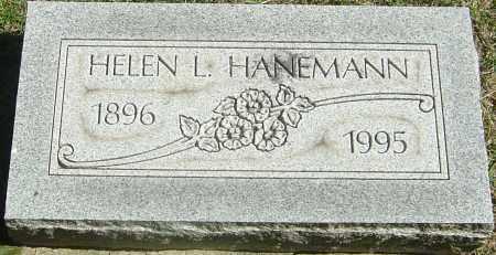 HANEMANN, HELEN L - Franklin County, Ohio | HELEN L HANEMANN - Ohio Gravestone Photos