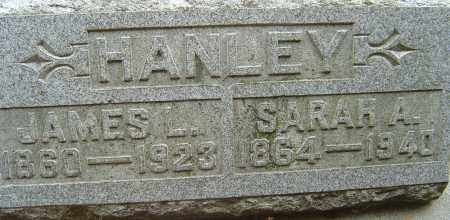 HANLEY, JAMES L - Franklin County, Ohio | JAMES L HANLEY - Ohio Gravestone Photos
