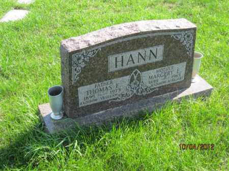HANN, THOMAS E JR. - Franklin County, Ohio | THOMAS E JR. HANN - Ohio Gravestone Photos