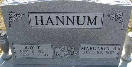 HANNUM, ROY T - Franklin County, Ohio | ROY T HANNUM - Ohio Gravestone Photos