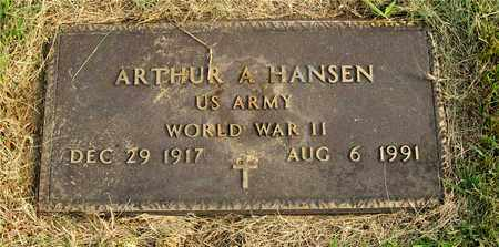 HANSEN, ARTHUR A. - Franklin County, Ohio | ARTHUR A. HANSEN - Ohio Gravestone Photos