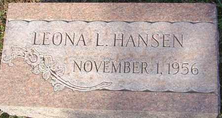 HANSEN, LEONA L - Franklin County, Ohio | LEONA L HANSEN - Ohio Gravestone Photos