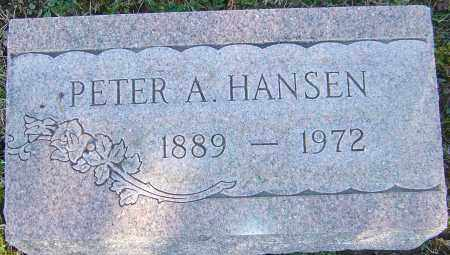 HANSEN, PETER A - Franklin County, Ohio | PETER A HANSEN - Ohio Gravestone Photos