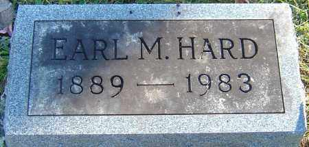 HARD, EARL MARION - Franklin County, Ohio | EARL MARION HARD - Ohio Gravestone Photos
