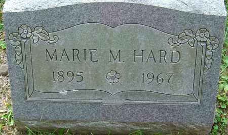 HARD, MARIE M - Franklin County, Ohio | MARIE M HARD - Ohio Gravestone Photos