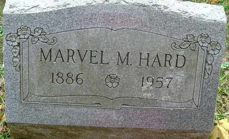 HARD, MARVEL MARION - Franklin County, Ohio | MARVEL MARION HARD - Ohio Gravestone Photos