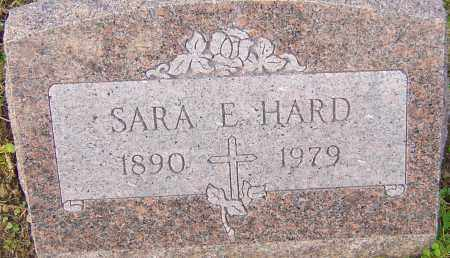HARD, SARA - Franklin County, Ohio | SARA HARD - Ohio Gravestone Photos